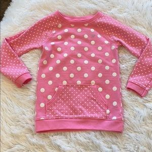 Adorable Carter's Polka Dot Sweatshirt